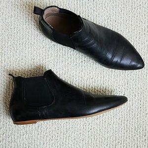Mercanti Fiorentini Leather Booties